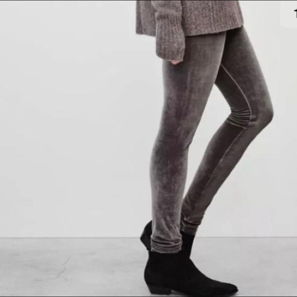 Wilfred Free Velvet Leggings
